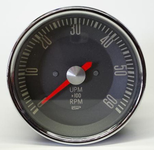EARLY TYPE 3 TACHOMETER - RED NEEDLE