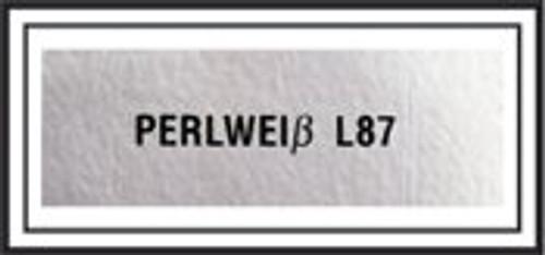 Pearl White Sticker