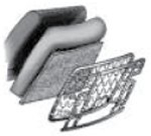 68-76 Front Bucket; Bottom and Backrest; 1 each