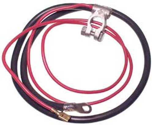 POSITIVE BATTERY CABLE, 1972-1979 Bus, made as original featuring German connections