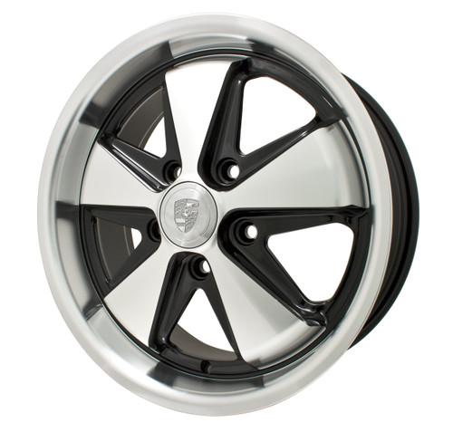 EMPI 911 Fuch Alloy Wheel Matte Black Matte Silver
