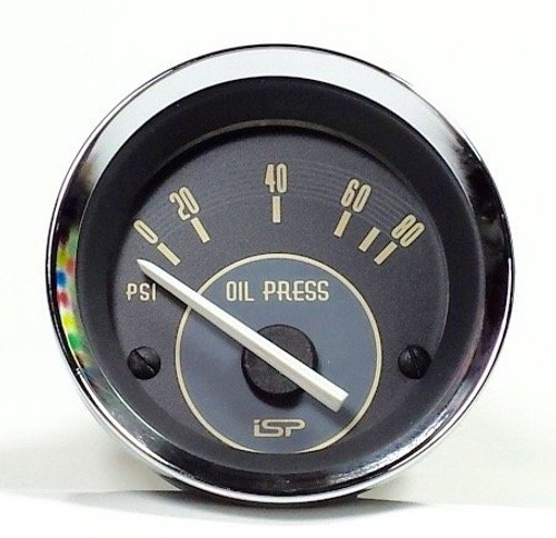 VINTAGE SERIES OIL PRESSURE GAUGE 52MM