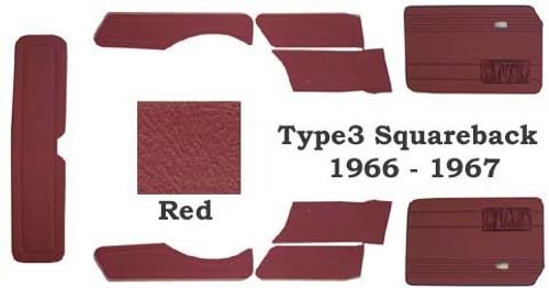 Squareback 1966-1967 STD 9pc Panel Set