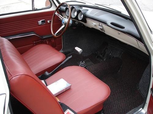 RED INTERIOR KIT - SQUAREBACK 1966-1967