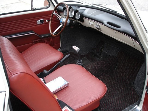 BLACK INTERIOR KIT - SQUAREBACK 1966-1967