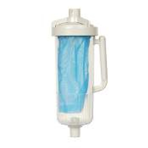 Swimming pool cleaner leaf canister