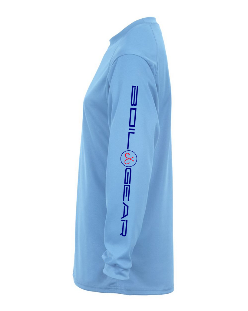 Boi Gear Performance Long Sleeve UPF+50 (Blue Mist)