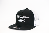 Ahi Special Black/White Two-Tone Trucker