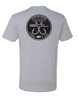 Classic Double Hookup Tee (Heather Grey)