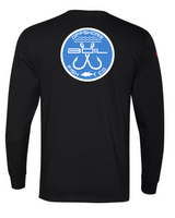 Classic Double Hookup Long Sleeve Tee (Black)