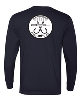Classic Double Hookup Long Sleeve Tee (Navy)