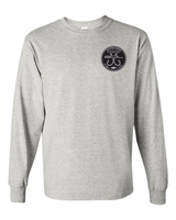Classic Double Hookup Long Sleeve Tee (Heather Grey)