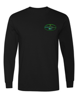 "Fish CO ""Mahi Madness"" Long Sleeve Tee (Black)"