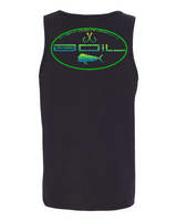 "Fish CO ""Mahi Madness"" Tank (Black)"