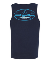 "Fish CO ""Wicked Wahoo"" Tank (Navy)"