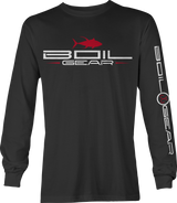 BOIL GEAR Long Sleeve Tee  (Black)