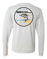 Tunanator Performance Long Sleeve UPF+50 (Light Grey)