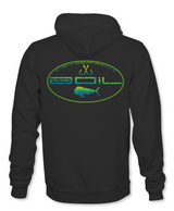 "Fish CO ""Mahi Madness"" Hoodie (Black)"