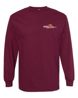 BOIL GEAR Long Sleeve Tee (Maroon)