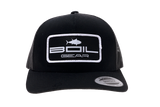 """Boil Gear OG"" Curve Bill Snapback (Black)"