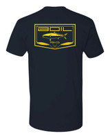 On The Iron Tee (Navy)