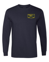 On The Iron Long Sleeve (Navy)