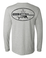 """The Grander"" Performance Long Sleeve UPF+50 (Heather Grey)"
