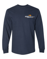 BOIL GEAR Long Sleeve Tee (Navy)