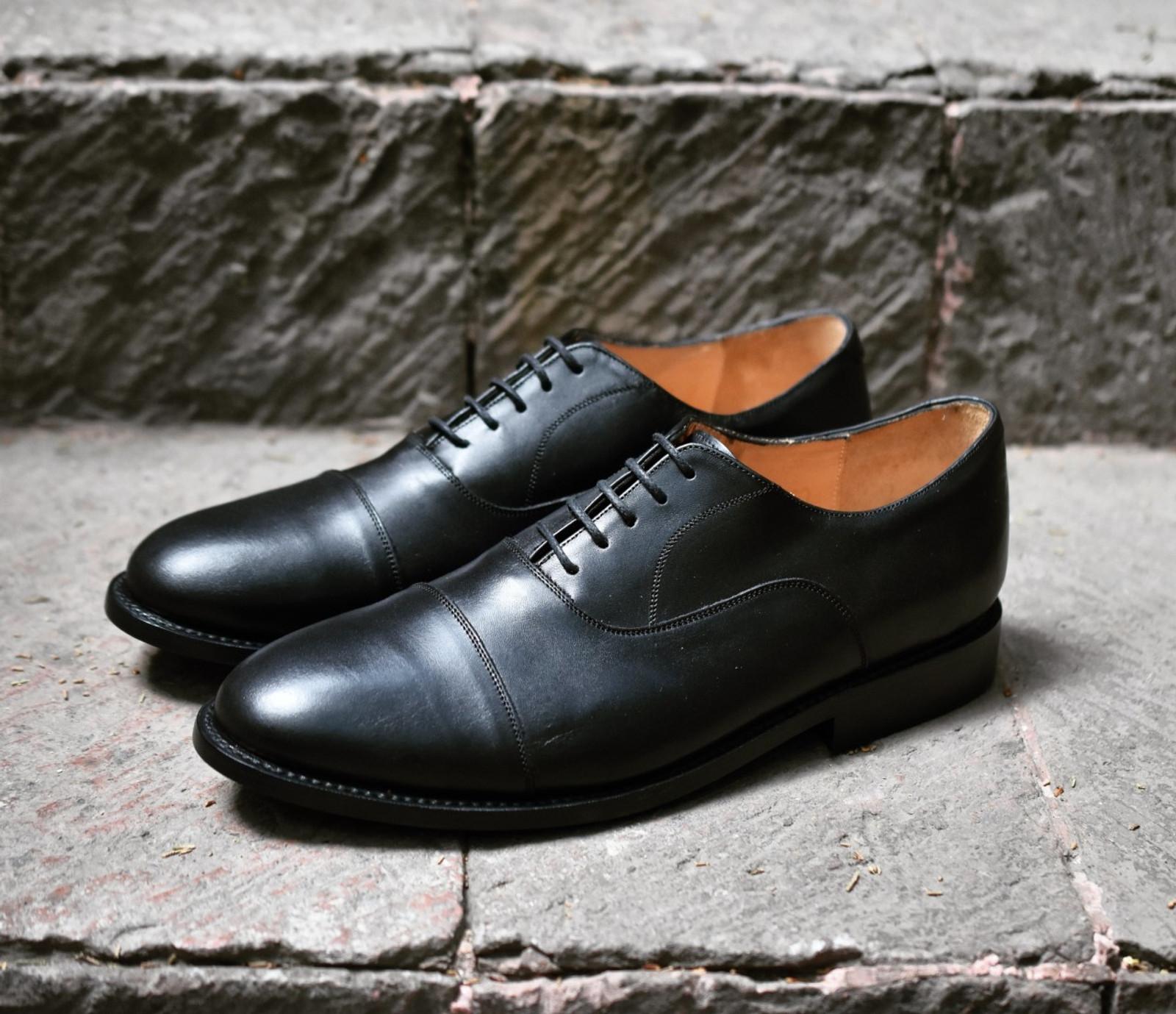 BLACK BOX CALF FOOTWEAR