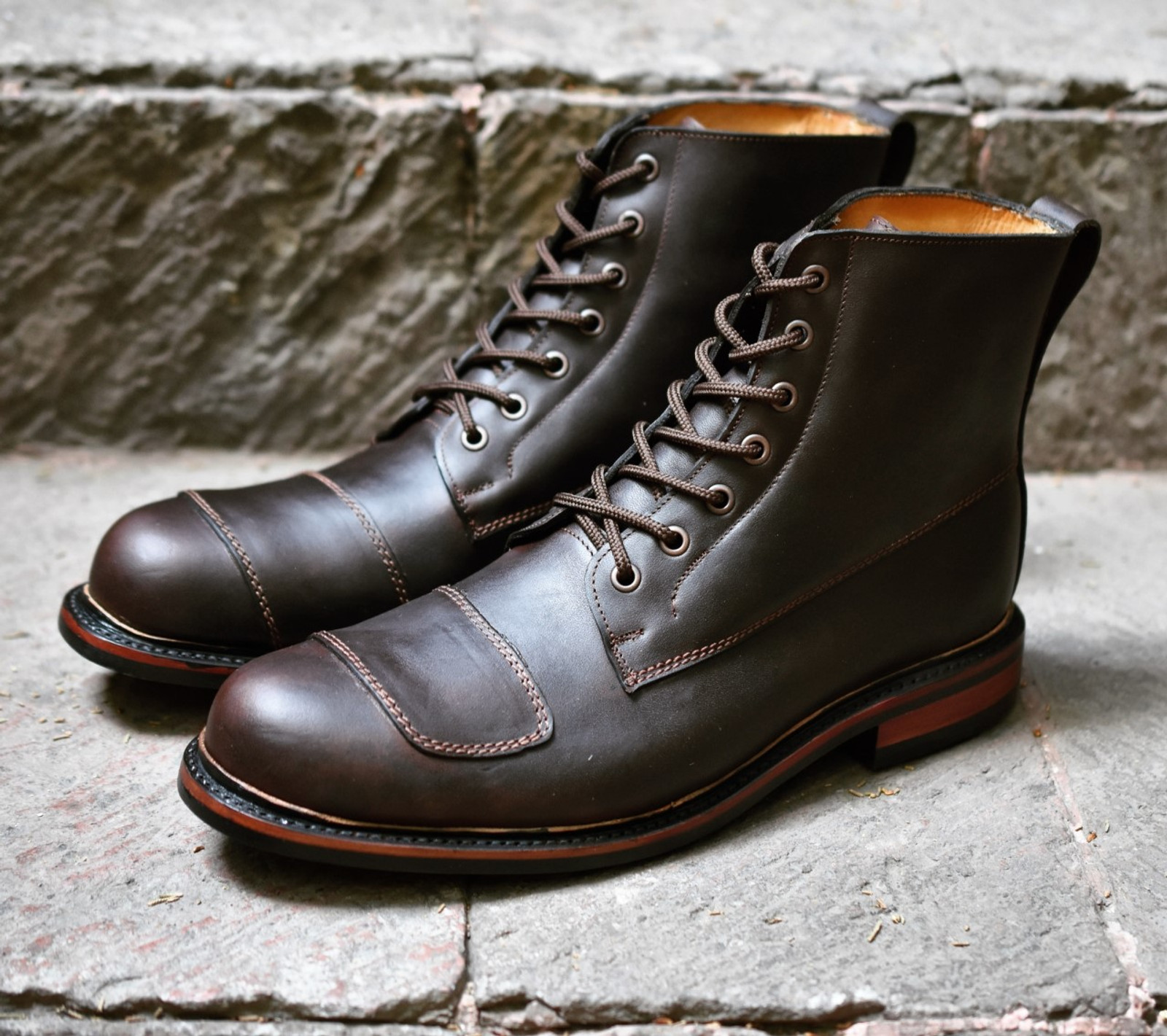MADE TO ORDER RIDER MOTORCYCLE BOOTS