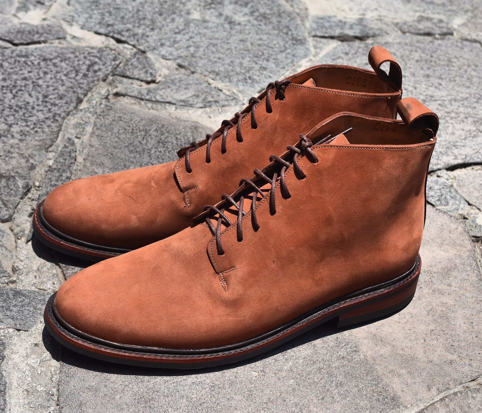 COPPER ROUGHOUT SB FOOT TANNING CO.