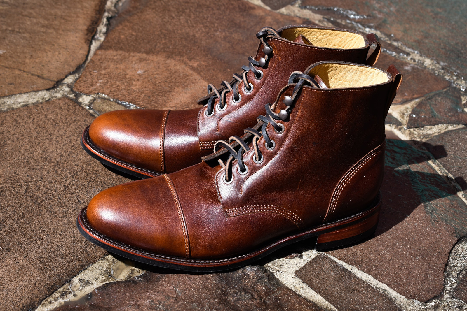OLITAN COGNAC FOOTWEAR