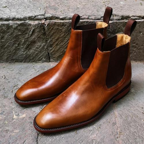 BROWN CAVALIER FOOTWEAR