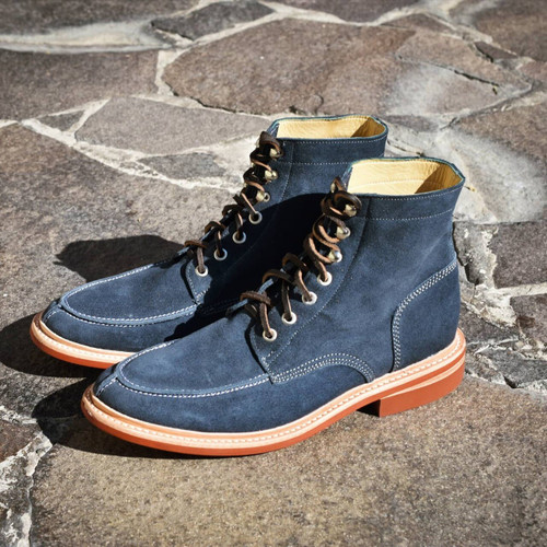 NAVY SUEDE FOOTWEAR