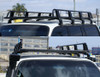 TRADESMAN STYLE ROOFRACK (FULL LENGTH) Suits all Vehicles with gutter mounts