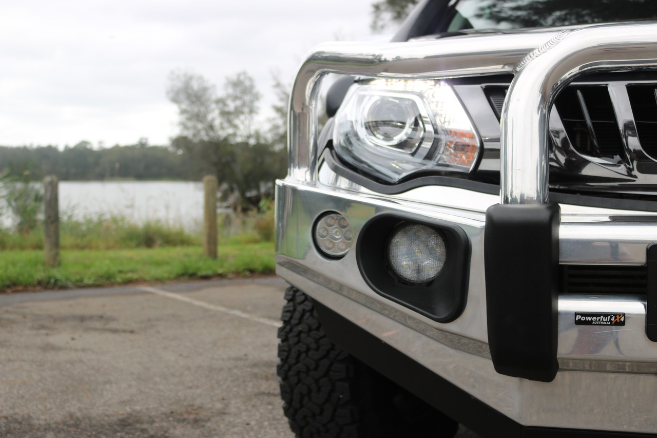 MQ TRITON 2015+ ROCKARMOR ALLOY HYBRID BULLBAR (WINCH COMPATIBLE) + BONUS RATED RECOVERY POINTS