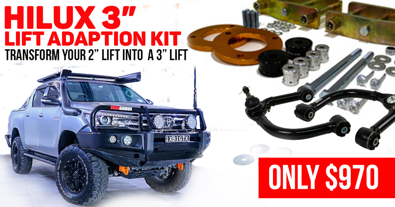 Toyota Hilux 3inch Suspension Adaption kit (N80 )