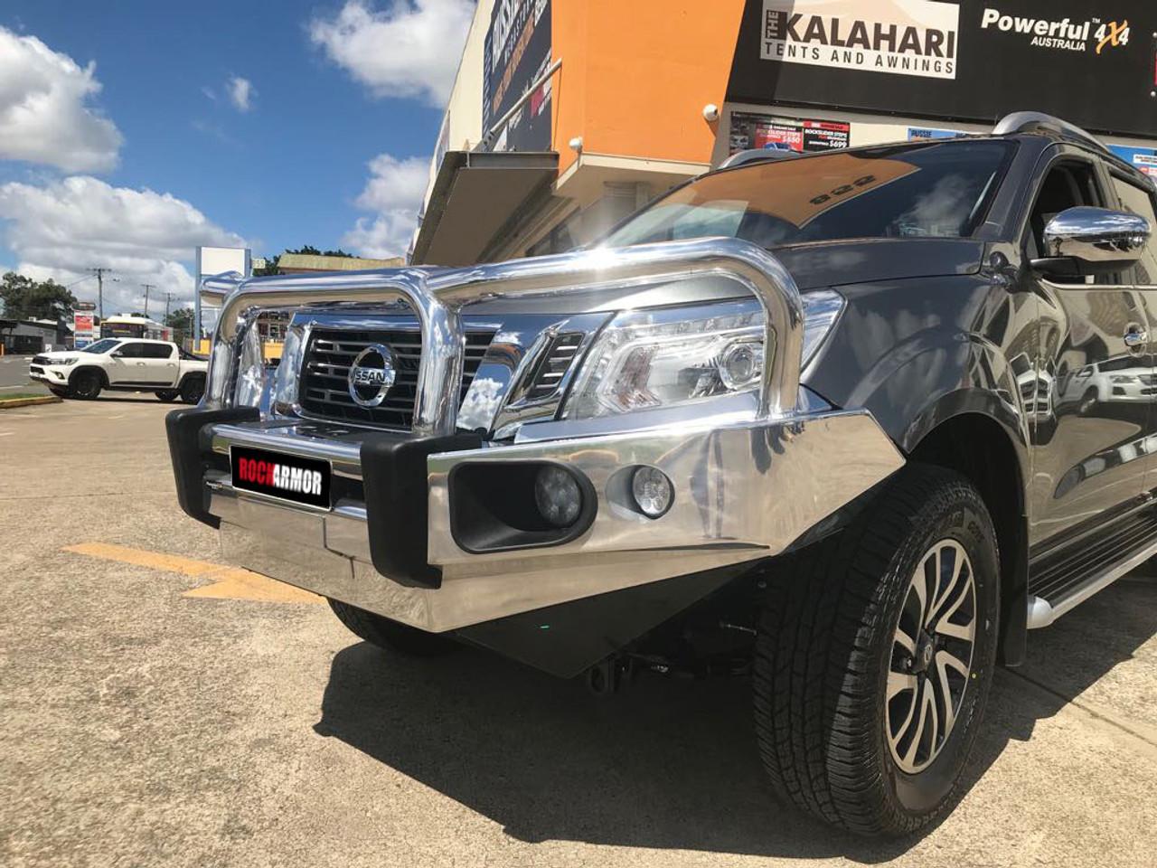 Rockarmor Hybrid Alloy Bull Bar (Winch Compatible) Nissan Navara NP300