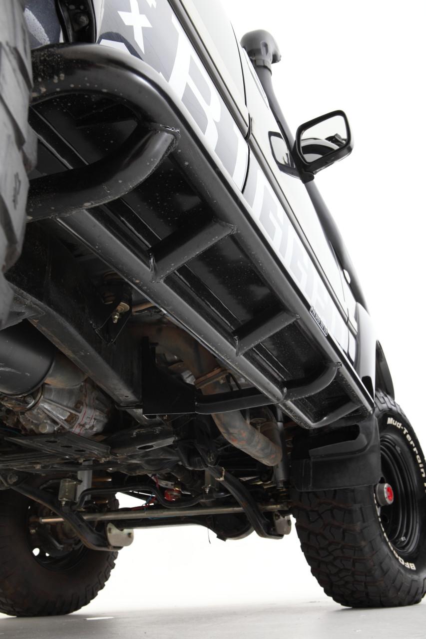 Toyota 80 Series Rockarmor Rockslider side steps