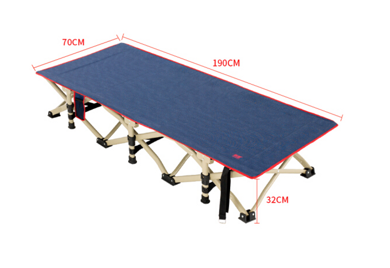 Camp Mate Stretcher Bed + Bonus Camp Shower