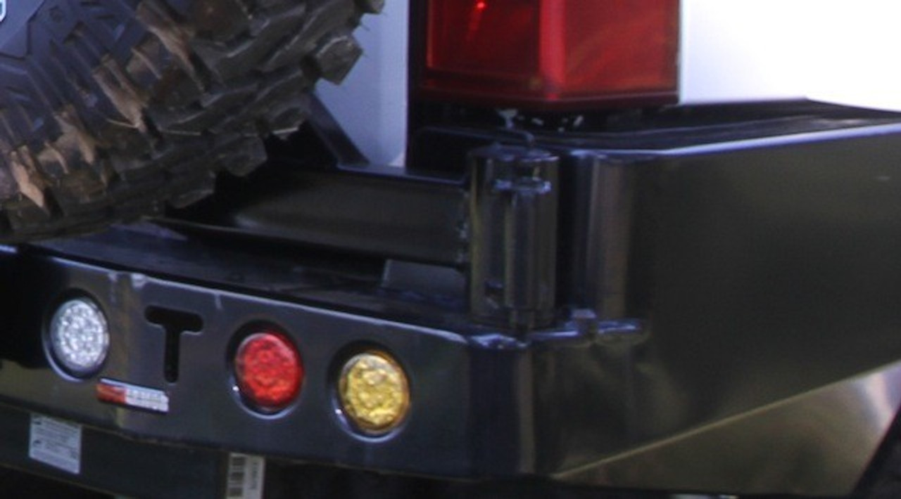 LED Tail Light (Yellow) for Dual Wheel Carrier