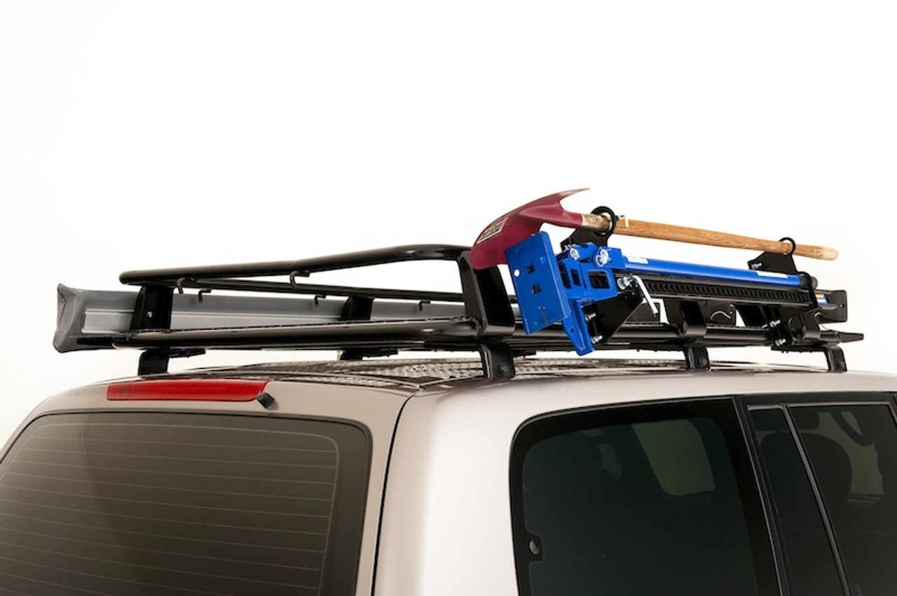 Roof Rack Cage High Lift Jack and Shovel Mount