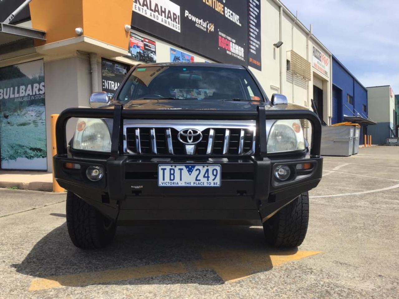 Prado Rockarmor 120 Series Bull Bar