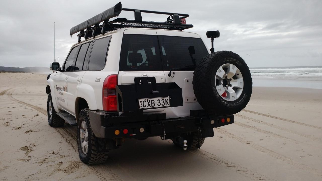 Nissan Gu Patrol Series 4+ Rockarmor Gen III Wheel Carrier