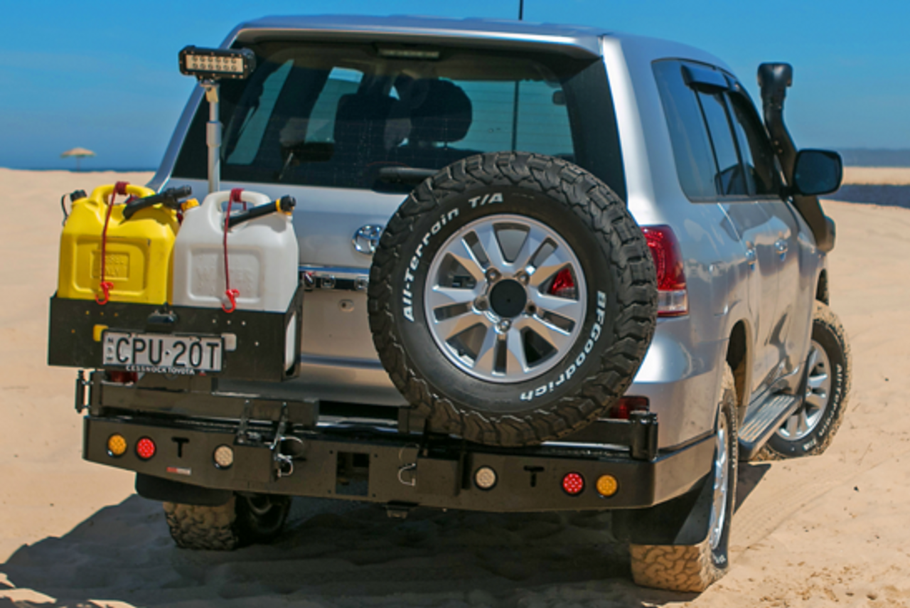 Dual Spare wheel carrier (200 Series Landcruiser) + BONUS PACK