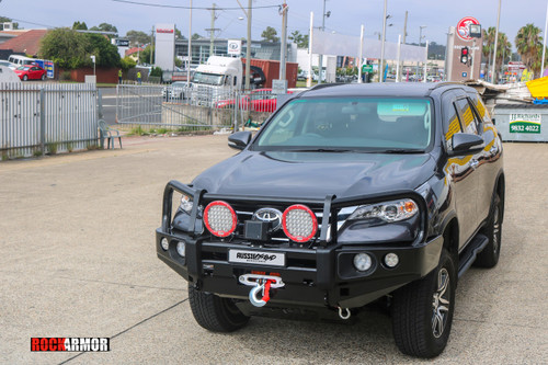 Fortuner 15+ Current Rockarmor Elite Bullbar