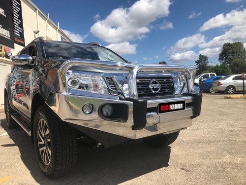Nissan Navara NP300 Alloy Bull Bar (Winch Compatible)