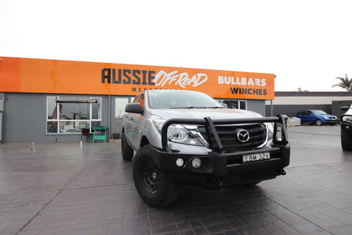 Mazda BT50 Rockarmor Elite Steel Bull Bar