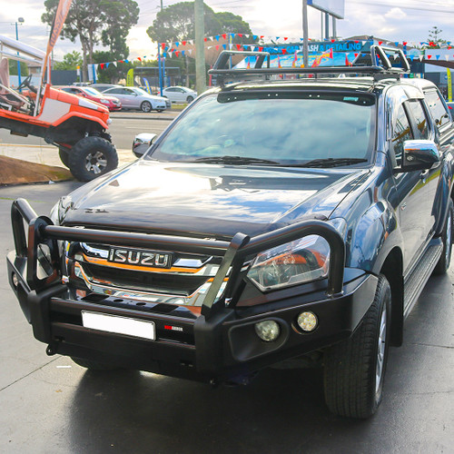 Isuzu MUX Rockarmor Steel Elite Bull Bar (2015+)