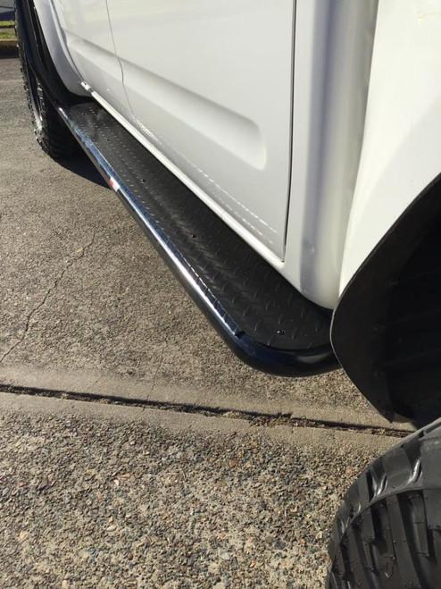 Nissan Navra D40 Steel Side Steps ROCKARMOR